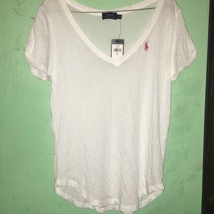 Polo V Neck  Shirt